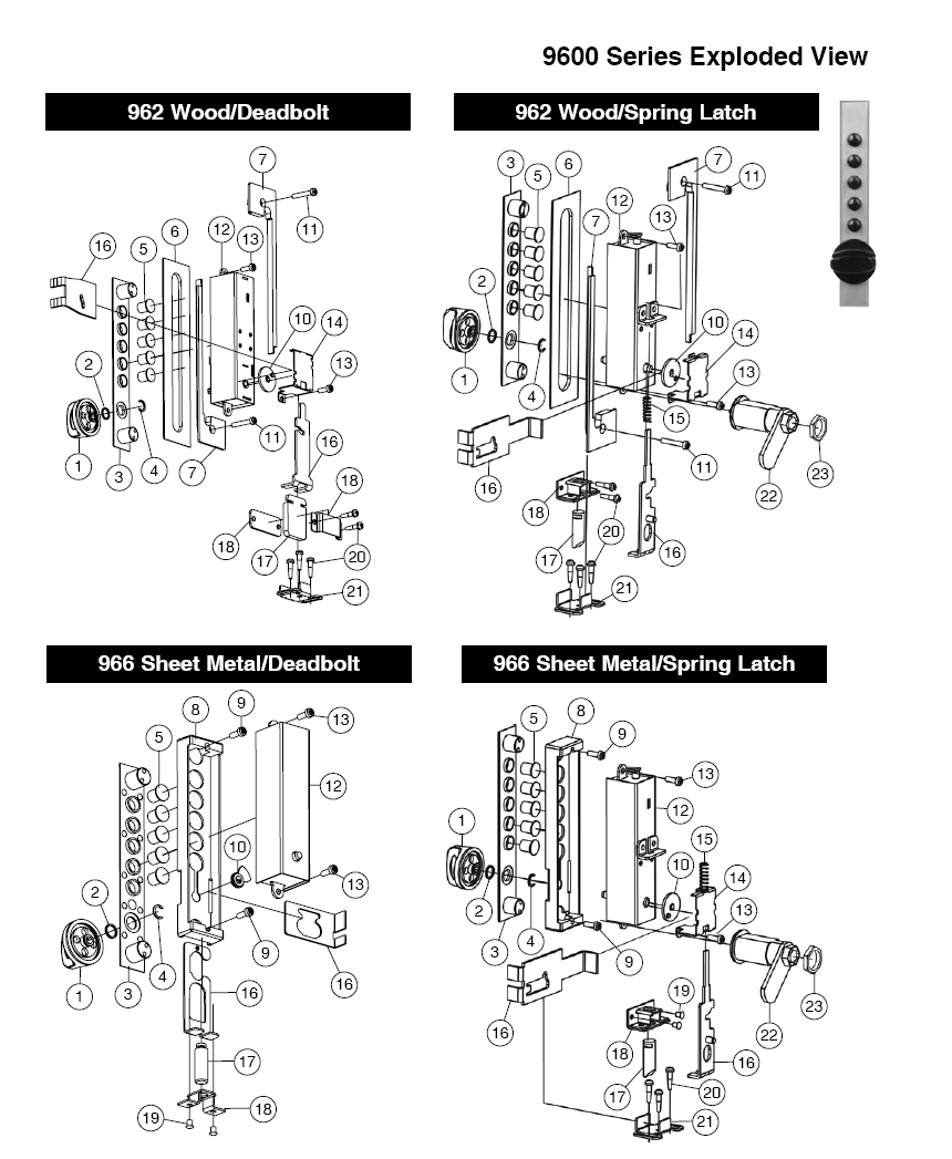 parts of a door knob assembly  omni concepts inc parts