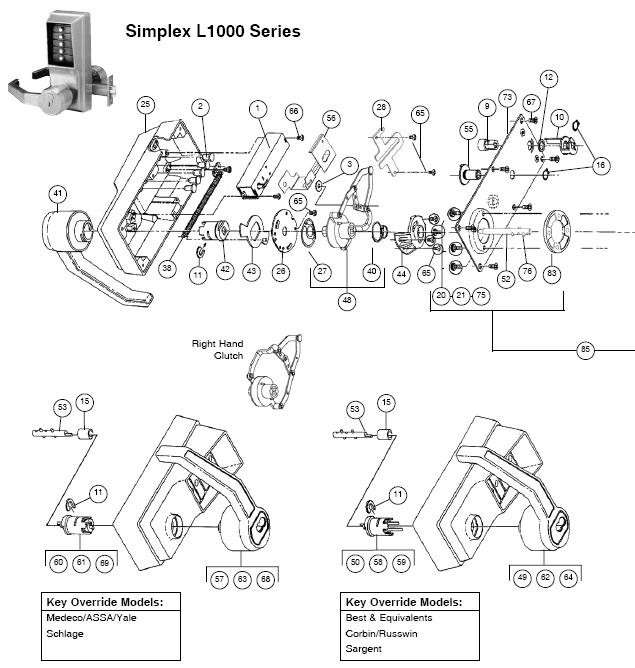 Schlage Parts Diagram 21 Wiring Diagram Images Wiring