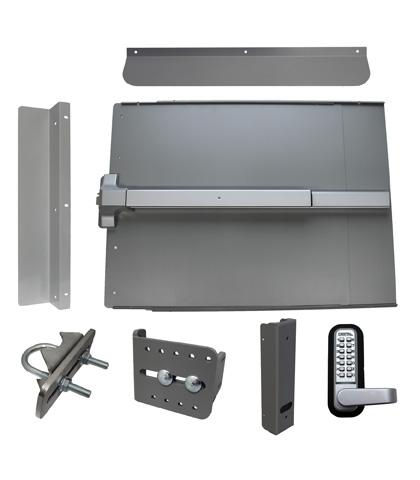 ED61 Edge Panic Shield Security Kit With LockeyUSA PB1100