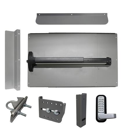 ED62 Edge Panic Shield Security Kit With Detex V-40