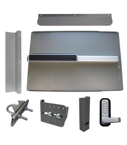 ED64 Edge Panic Shield Security Kit With LockeyUSA PB2500