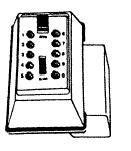 860-0040 Supra Pushbutton Combination Key Box 001161 J5