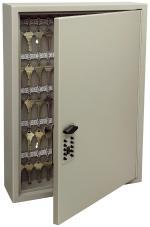 Keyless Pushbutton Key Cabinet 30 Key Capacity