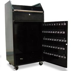 TT-POD07-50-C Standard Valet Podium 50 Hooks Included W ...