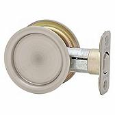 33415A Kwikset 334 15A Antique Nickel Rd Pocket Door Lock x Passage