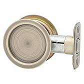3345 Kwikset 334 5 Antique Brass Rd Pocket Door Lock x Passage