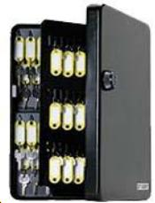 SL-9122 122 Key Capacity Combination Key Cabinet 60 Key Tags Included