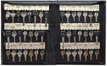 KSI-102-48 Vel-Key Portable Key Case Holds 48 Tags