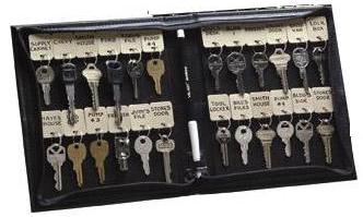 KSI-101-24 Vel-Key Portable Key Case Holds 24 Tags