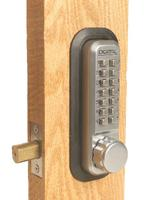 Lockey 2210 Mechanical Keyless Deadbolt Adjustable Backset