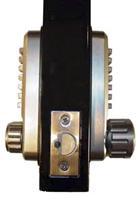 Lockey 2230DC Mechanical Keyless Deadbolt Spring Latch 2 3/8 Backset