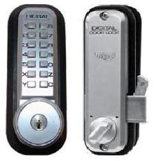 Sliding Door Lock Hook Bolt Satin Chrome