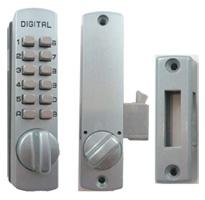 C150 Mechanical Keyless Hook Cabinet Lock / Sliding Door Mechanical Keyless Hook Bolt