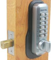 Lockey M210 Mechanical Keyless Tubular Deadbolt Adjustable Backset