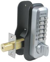M210EZSC M210 Deadbolt w/ EZ Mounting Plate Tubular Deadbolt Adjustable Backset Satin Chrome