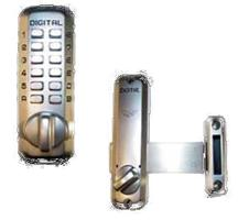 Rim Surface mount Deadbolt Satin Chrome