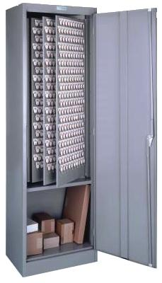 Lund Floor Key Cabinet 760 Key Hooks Two Tag System