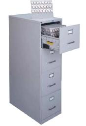 Lund Four Drawer Cabinet 1610 Key Capacity One Tag System Expandable up to 3312 Capacity