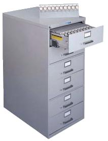 Lund 6 Drawer Key File Cabinet 1200 Key Capacity 2 Tag System Expandable BHMA/ANSI Approved