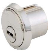264S-MOR1-26D-KD High Security Mortise Cylinder 1-1/8? Dull Chrome