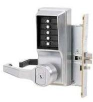 Simplex L8146B-26D-41 Mortise Lever LH-W/Key Bypass Best/Falcon Core Included Satin Chrome