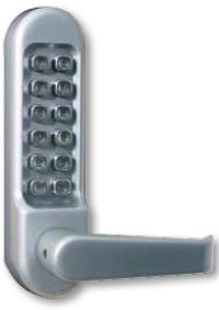 Simplex LD471-48-03 LD471-48-03 Kaba PBL Light Duty Lock W/Passage 2-3/8 B.S Pol Brass
