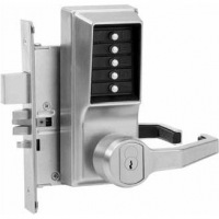 Simplex R8148B-26D-41 Mortise Lever W/Deadbolt RH-W/Key Bypass Best/Falcon Core Included Satin Chrom
