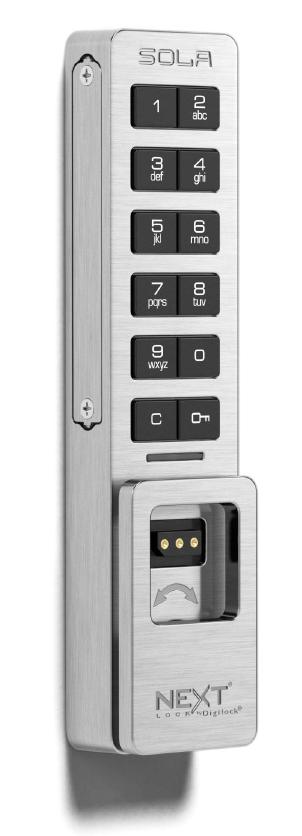 Sola 3 Digital Lock Code Managed Keypad