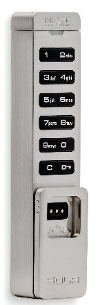 Sola Vertical Digital Cam Lock Shared Use or Assigned Use Code Managed-  Programed At Keypad