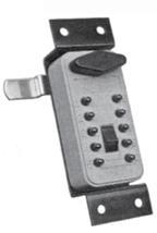 860-0130 GE Supra Quick Access Retro-Fit Lock- Clay