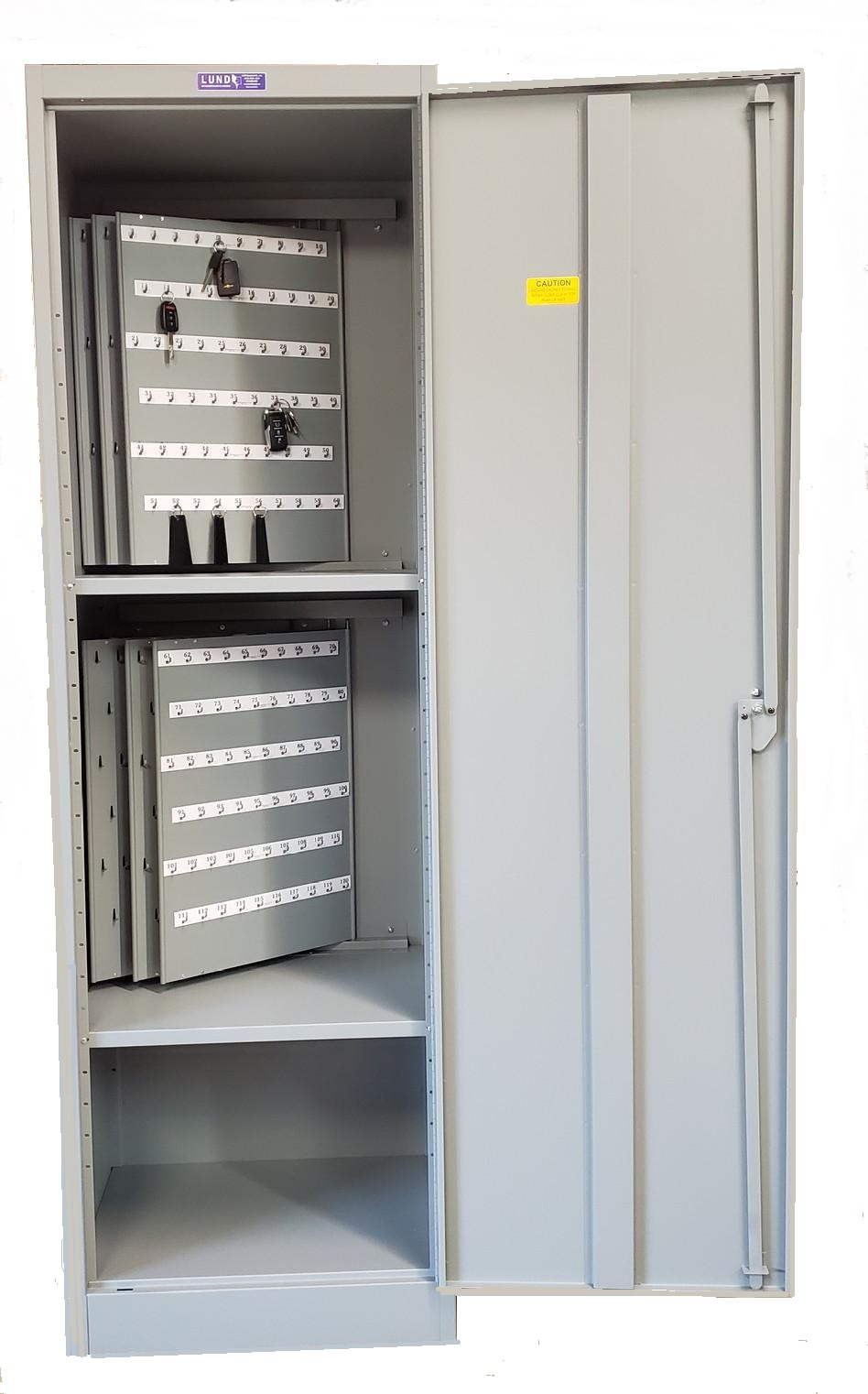 Lund Auto / Fleet 600 Key Capacity Floor Cabinet BHMA/ANSI Approved