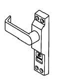 202-4550 4550R-01-628 Deadlock Lever w/ lock Indicator