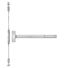 2803 605 36 Precision Apex Concealed Vertical Rod Device Only, 36 Inches Wide Stile, Reversible Pol