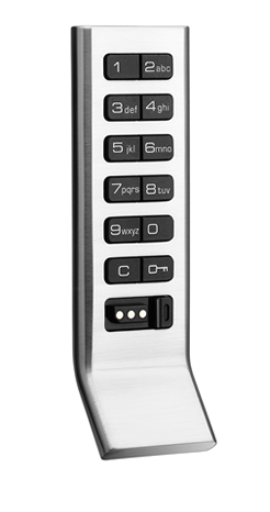 Aspire Assigned Use Spring Latch Vertical Body W/Pull Satin Nickel Call for Qty Pricing