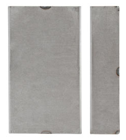 K-BX458175 Blank Weldable Box 1 3/4 W x 4 1/2 L x 8 H For No Holes