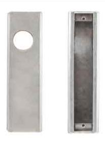 K-BXA/R Lock Box For Adams Rite 1850S, 1851S, 4511, 4710 & 4711, 1 1/8 B/S 2 1/16 w x 8H x 1 13/16
