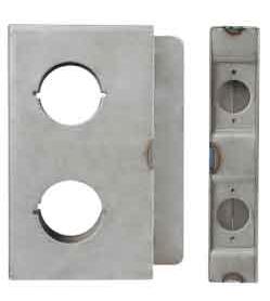 K-BXDBL234 Lock Box Double 2 3/4 B/S