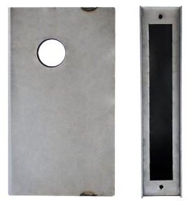 K-BXMOR3 Mortise Lock Box For No trim hole (cylinder hole only)