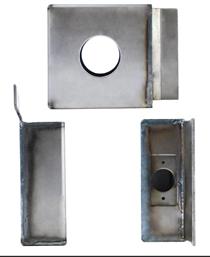 K-BXSGL234-10SP Heavy Duty Reinforced Lock Box Single