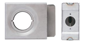 K-BXSGL234-2D 2 Wide Lock Box Single