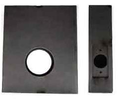 K-BXSGL234-DIG Lock Box Single 2 3/ Backset for Various Digital Locks