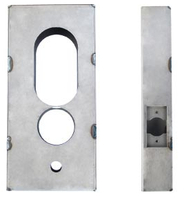 K-BXWIN Weldable Gate Box For Winfield Microkey Tubular 1000 Series