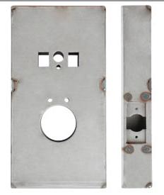 K-BXCOB-AL Aluminum Box For Schlage Cobra
