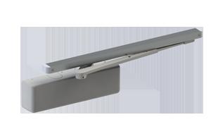 Hager 5100-PAR-16-ALM-HDHO-LH Grade 1 Size 1-6 Aluminum Hold Open LH Closer Parallel Mount LH