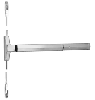 Yale 7220 36 630 RHR CVertical Rod Exit Device x RHR