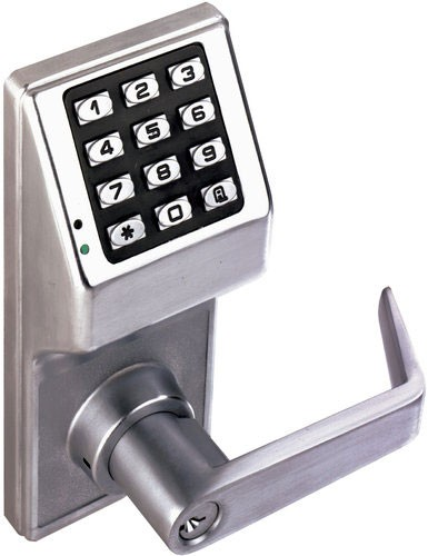 DL2775WIC US26D Trilogy Keypad Lever Best SFIC 100 User Codes Weather Proof Satin Chrome